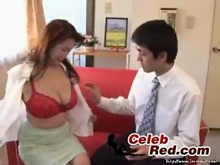 Busty Japanese MILF Fuck Young Salesman japanese