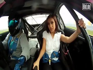 Russian Models - Accident on Race Car - PunXXX