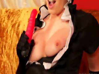 Sexy classy lesbians pussy play