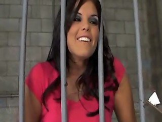 hot babe in jail