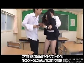 Japanese girl cute baby Torture Teacher Blowjobs toys BDSM creampie