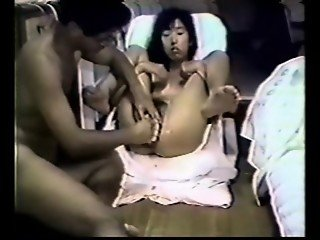 Japanese Kimiko double pussy fisted and toyed