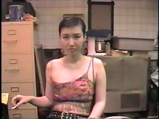 Hot Korean Mess 1 - Sayako Sucks Cock In the Basement Of A Bar