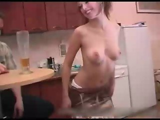daughter strips for dad