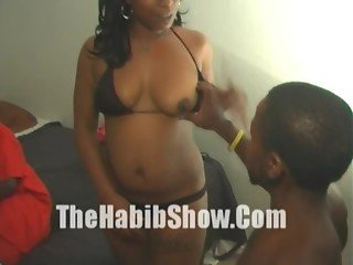 Midget with 12 inch Dick Fuck Stripper Booty