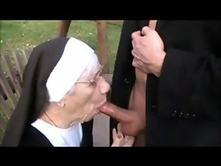 granny nun fucked on swing - marge cougarchampion