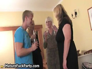 Old experienced housewifes are taking