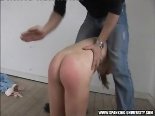 Spanking summers naked ass