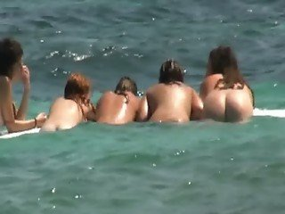 Frence nudist beach 2-6 III-III