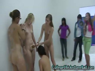 Amateur college teens haze games