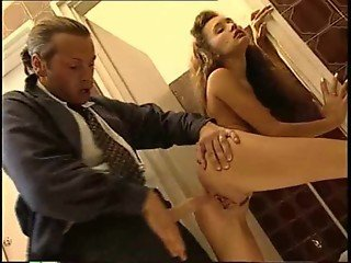 Tall leggy brunette Diana Ruskof fucked in the ass by Reinhardt (La Punizione)