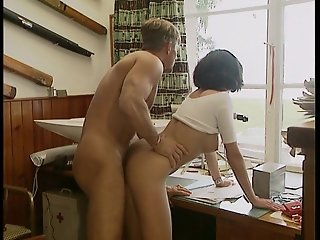 Sitting on top of his world getting foot fucked