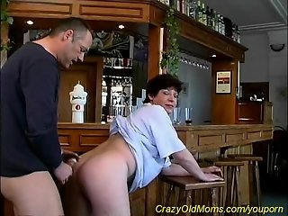 talented crazy old mom