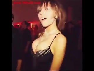 beauty big boobs dancing