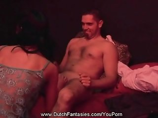 Dutch Strip Club Blowjob