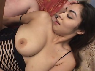 Mexican girl loves his cum