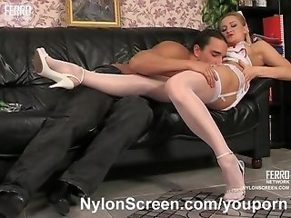 Nylon wex with a nurse