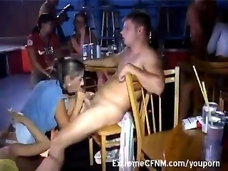 CFNM Party Girls dominate
