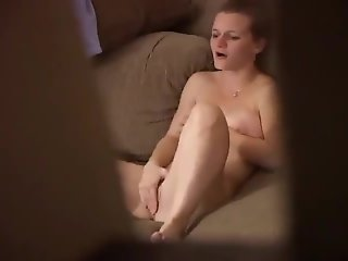 Ex Girlfriend spied masturbating