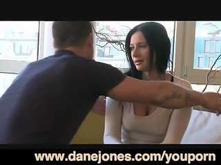 DaneJones Mature woman with big tits is so horny