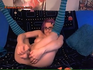 Nerdy Teen Cam Girl