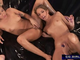 More of the Jena Haze Oil Orgy