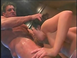Ashley Blue goes ass to mouth - Pandemonium