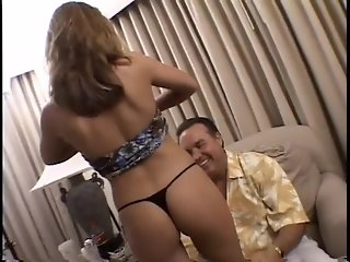 Brunette rides cock in hotel room - Lord Perious
