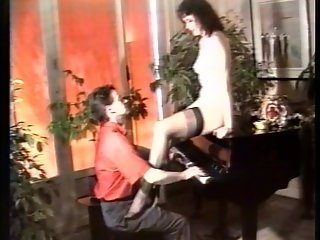She helps him play the piano pt 2/3