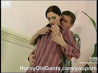 Young girl fucked by older dude