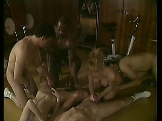 Orgy At The Fitness Center