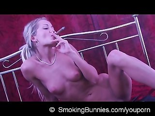 Erotic smoking Adela naked