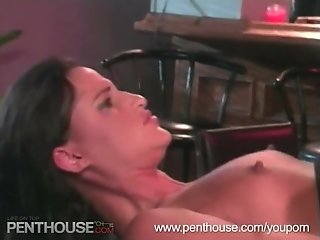 Hot suck & fuck at the bar