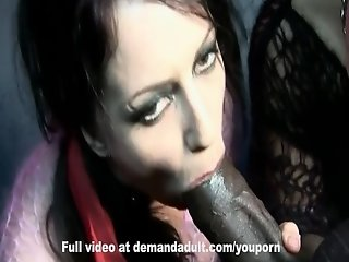 FFM monster cock anal and big toys