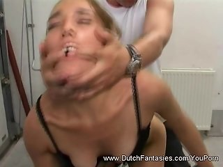 Extreme Pounding on a Special Chair