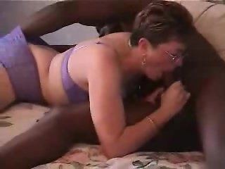 Cuckold. Wife and black bull