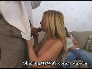 Monster Cock Explodes Over Hot Petite Wifey