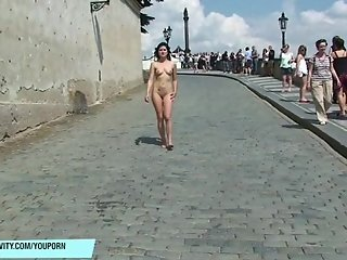 Spectacular Public Nudity With Hot Czech Chicks