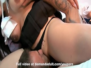 Cosplay - Anal College Slave