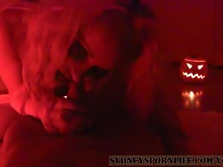 HALLOWEEN FUCK BY AMATEUR COUPLE