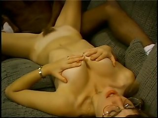 Nerdy girl can't fit it all in - Gentlemens Video