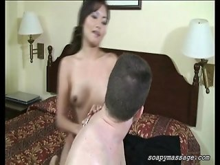 Erotic soapy massage with Happy Ending