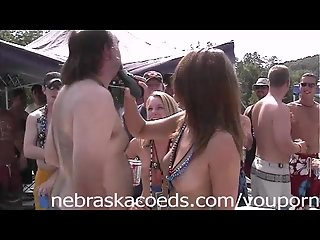Topless Beard Shaving at Partycove