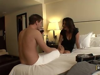 Mature woman fucked by young cock