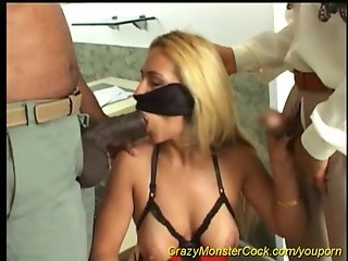 busty babe needs a monster in her ass