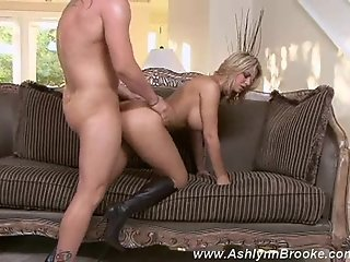 Ashlynn Brooke Takes It Doggystyle And To The Face