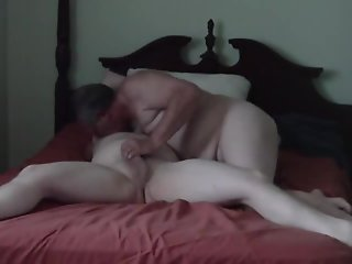 In bed with grandpa older mature gay sex