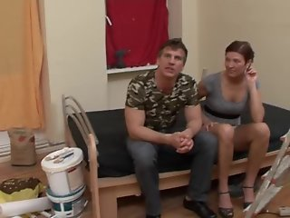 Dirty german short hair redhead fuck & squirt very strong