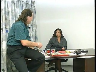 Big boob Tiziana Redford get fucked in office