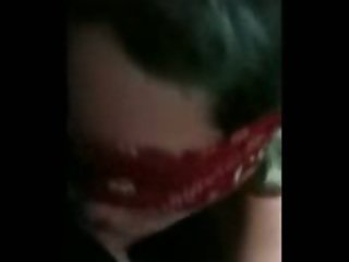 Blindfolded bj clip